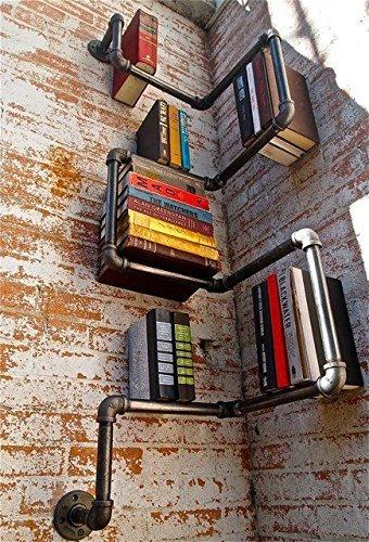 industrial-estilo-urbano-tubo-de-acero-galvanizado-estante-estantes-almacenamiento
