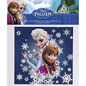 Simplicity 1931110001 Disney Frozen Sisters Iron on Transfer Transformer