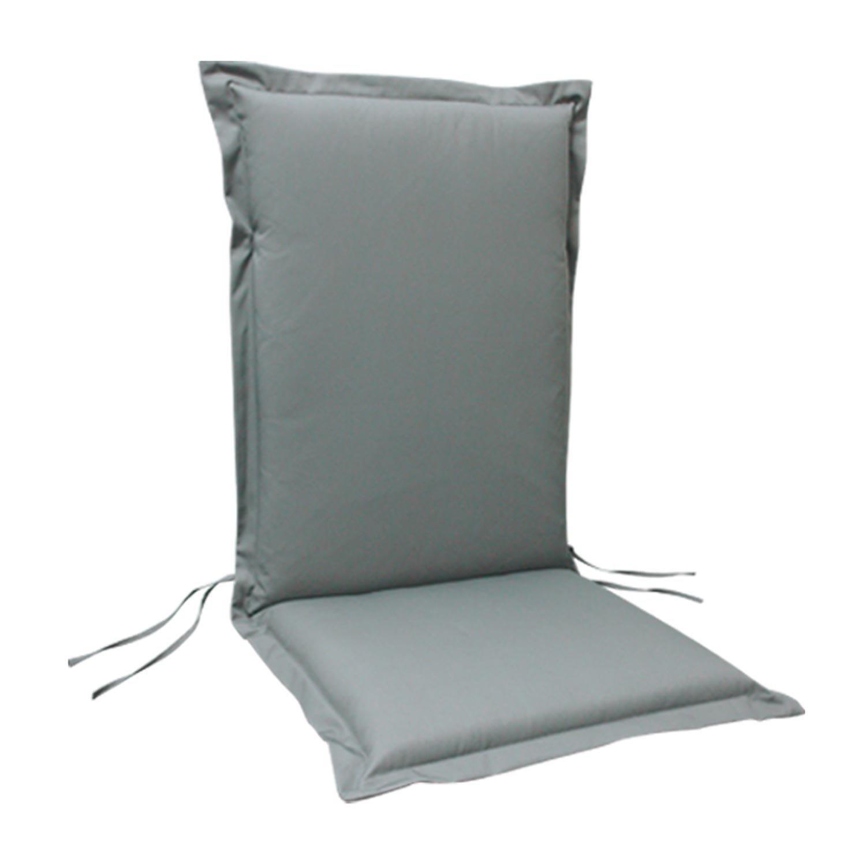 6 x indoba – Sitzauflage Hochlehner Serie Premium – extra dick – Grau jetzt kaufen