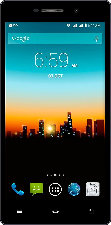 "POSH Kick X511a - 5.0"" IPS LCD, 4G, Android 4.4 Kit Kat, Quad-core, 8GB, 5MP Camera, Ultra Slim, Multi-colored, Dual Sim UNLOCKED Smartphone (Black)"