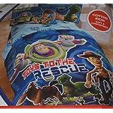 "Disney PIXAR Toy Story Twin Size Comforter ""Toys To The Rescue"""