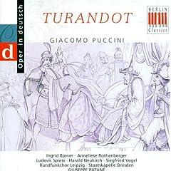 Puccini, G.: Turandot (Sung In German) [Opera] (Bjoner)