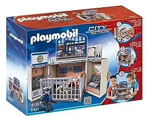 Playmobil - 5421 - Figurine - Coffre Poste De Police