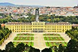 """Schonbrunn Palace Vienna Austria Europe Art Poster 16"""" X 11"""""""
