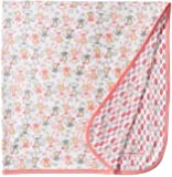 Magnificent Baby Girls' Yoga Monkey Reversible Receiving Blanket