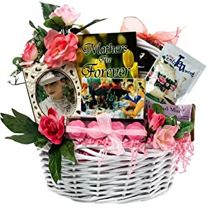 Art of Appreciation Gift Baskets Mothers Are Forever Tea and Snacks Gift Basket, Small