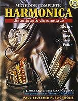 Méthode complète d'harmonica diatonique & chromatique - J.J. Milteau + CD - Beuscher