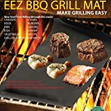 2pcs Reusable Non-stick Surface BBQ Grill Mat Baking Easy Clean Grilling FL