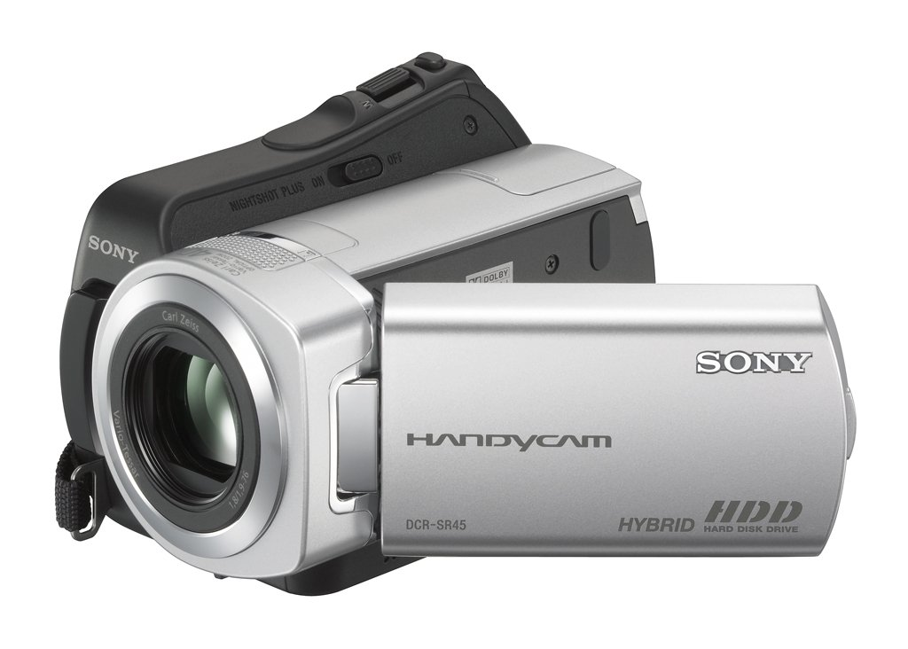 Sony DCR-SR45 30GB Hard Drive Handycam Camcorder with 40x Optical Zoom