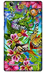 iessential butterfly Designer Printed Back Case Cover for Lenovo Vibe K5