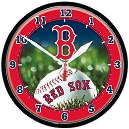 Boston Red Sox MLB Round Wall Clock