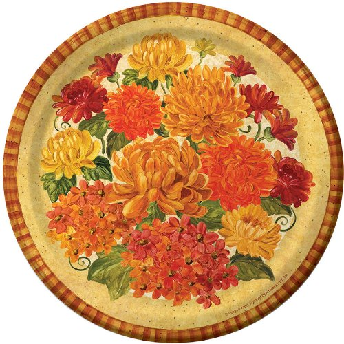 Magnificent Mums Dinner Plates