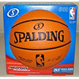 "Spalding Replica 29.5"" Full Size NBA Game Basketball (Inflated ready to go - In Retail Box)"