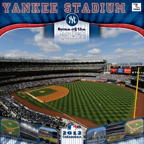 2012 NEW YORK YANKEES YANKEE STADIUM 12X12 WALL CALENDAR