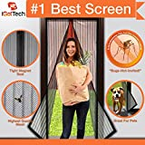 """Magnetic Screen Door, Full Frame Velcro. Fits Door Openings up to 34""""x82"""" MAX"""