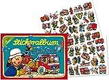 Stickeralbum mit über 58 Sticker * FEUERWEHR * von LUTZ MAUDER // 72009 // Feuerwehrmann Fireman Feuerwehrauto Sam Geschenk Tattoo Kindersticker Aufkleber Stickerbuch