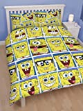 Spongebob 'Framed' Double Rotary Duvet Set + Matching 72