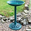 GARDEN/OUTDOOR WILD BIRD WATER BATH - RESIN NEW