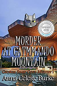 Murder At Catmmando Mountain Georgie Shaw Cozy Mystery #1 by Anna Celeste Burke ebook deal
