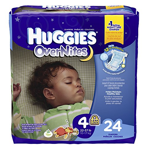 Huggies Overnites Diapers - Size 4 - 24 ct - 1