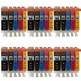 30 XL ( 6 Sets) ColourDirect Compatible Ink Cartridges Replacement For Canon CLI-551XL/ PGI-550XL - Pixma MG5450 MG5550 MG5650 MG6350 MG6450 MG6650 MX725 MX925 MX725 MG7150 iP7250 Printers