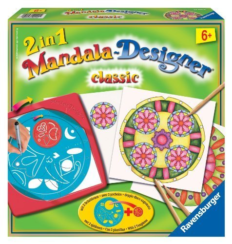 Ravensburger 2-in-1 Mandala-Designer – Classic by Ravensburger TOY (English Manual) als Weihnachtsgeschenk