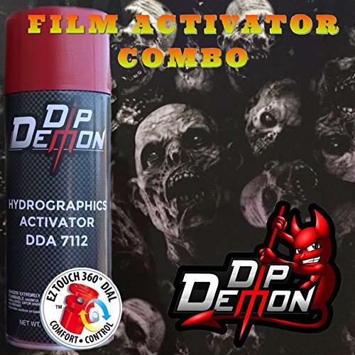 Combo Kit Z Nation Hydrographic Water Transfer Film