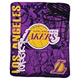 "NBA Lightweight Fleece Blanket (50"" x 60"") - Los Angeles Lakers"