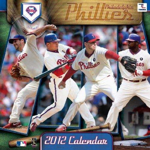 2012 PHILADELPHIA PHILLIES 12X12 WALL CALENDAR at Amazon.com