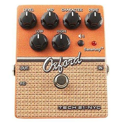 Tech 21Oxford ギター用アナログアンプシミュレーター& オーバードライブ/ディストーション 【国内正規品】