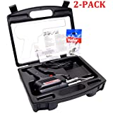 D550PK 260-Watt/200W Professional Soldering Gun Kit with Three Tips and Solder in Carrying Case (Original Version, 2-Pack) (Color: Original Version, 2-Pack)