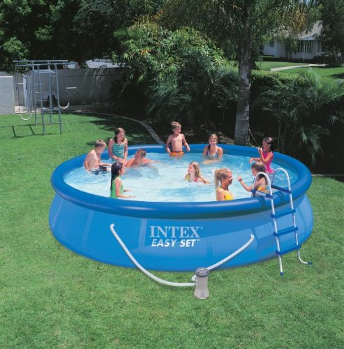 cheap buy intex 54913eg easy set pool set 15 feet by 36. Black Bedroom Furniture Sets. Home Design Ideas