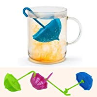 Boomer Vivi Snowflake Silicone Stainless Loose Leaf Tea Infusers/Strainers (Ts 01)