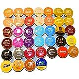 Probierpaket - 39 verschiedene Dolce Gusto Kapseln von FROG.coffee