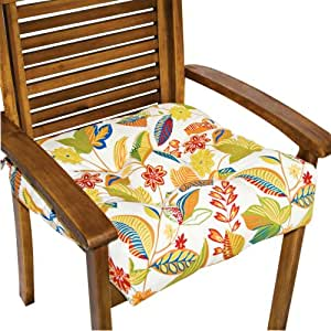 "Amazon Esprit 20"" Square Outdoor Chair Cushion Home"