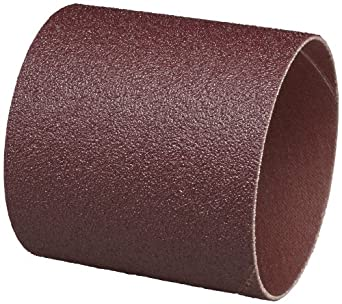 "3M  Cloth Band 341D, 3"" Diameter x 3"" Width, 36 Grit, Brown (Pack of 50)"