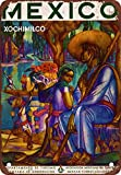 Mexican Tourism Vintage Look Reproduction Metal Tin Sign 12X18 Inches