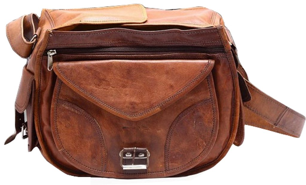 CoolStuff Gypsy Genuine Leather DSLR SLR Vintage Camera Shoulder Messenger Bag Camera Satchel … 1