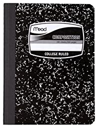 Mead Composition Notebook, College-Ruled, 100 Sheets, 12 Pack (72938)