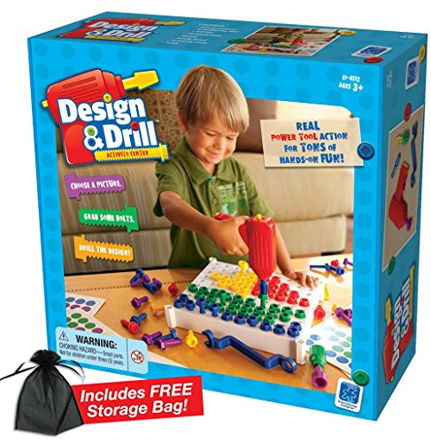 Design & Drill Activity Center with Free Storage Bag