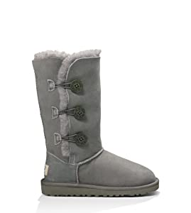 Image UGG Australia Kid's Bailey Button Triplet Boot