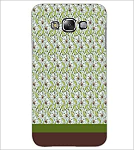 PrintDhaba Floral Pattern D-1848 Back Case Cover for SAMSUNG GALAXY A8 (Multi-Coloured)