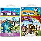 VTech MobiGo Software - Monsters University AND Madagascar 3 __2productbundle__