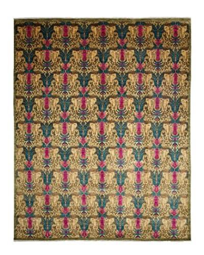 """Darya Rugs Suzani Oriental Rug, Pink, 8' 2"""" x 10' 2"""""""