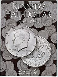 1964-1984 P & D Uncirculated Kennedy Half Set with Book