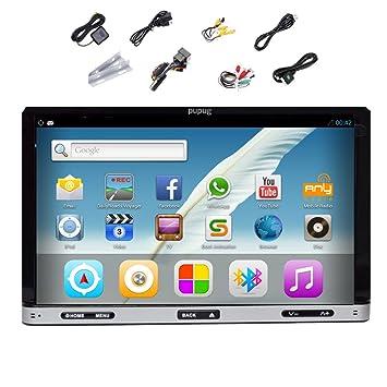 ?cran UnitšŠ GPS pouces lecteur DVD de voiture Navigator chef Auto Radio wifi 3G capacitif Double Din 7 Pupug Android 4.2 RDS stšŠršŠo Bluetooth Dual-Core CPU 8GB