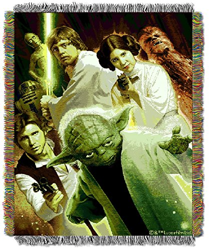 """The Northwest Company Lucas' Star Wars """"Small Rebel Force"""" Tapestry Throw, 48 By-60-Inch front-876673"""