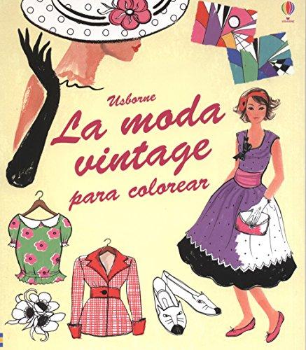 La moda vintage para colorear