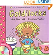 Lift-the-Flap Fairy Tales: Goldilocks (with CD)