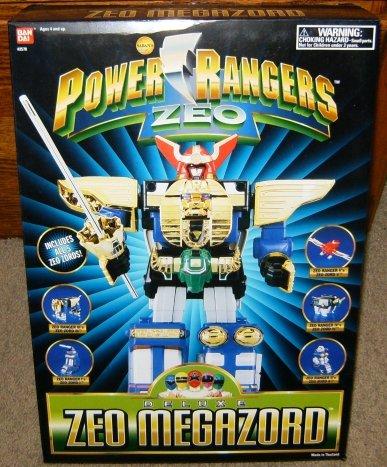 Power Rangers Deluxe Zeo Megazord Action Figure (Power Rangers Zeo Game compare prices)